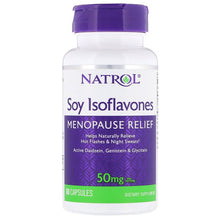 Load image into Gallery viewer, Natrol, Soy Isoflavones, 50 mg , 60 Capsules