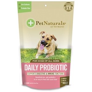 Pet Naturals of Vermont, Daily Probiotic, For Dogs of All Sizes, 60 Chews, 2.55 oz (72 g)