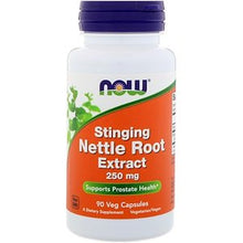 Load image into Gallery viewer, Now Foods, Stinging Nettle Root Extract, 250 mg, 90 Veg Capsules