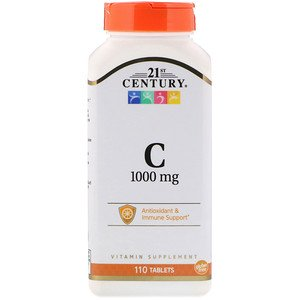 21st Century, Vitamin C, 1,000 mg, 110 Tablets