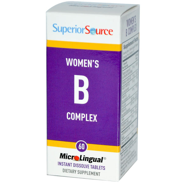 Superior Source Women's B Complex 60 MicroLingual Tablets