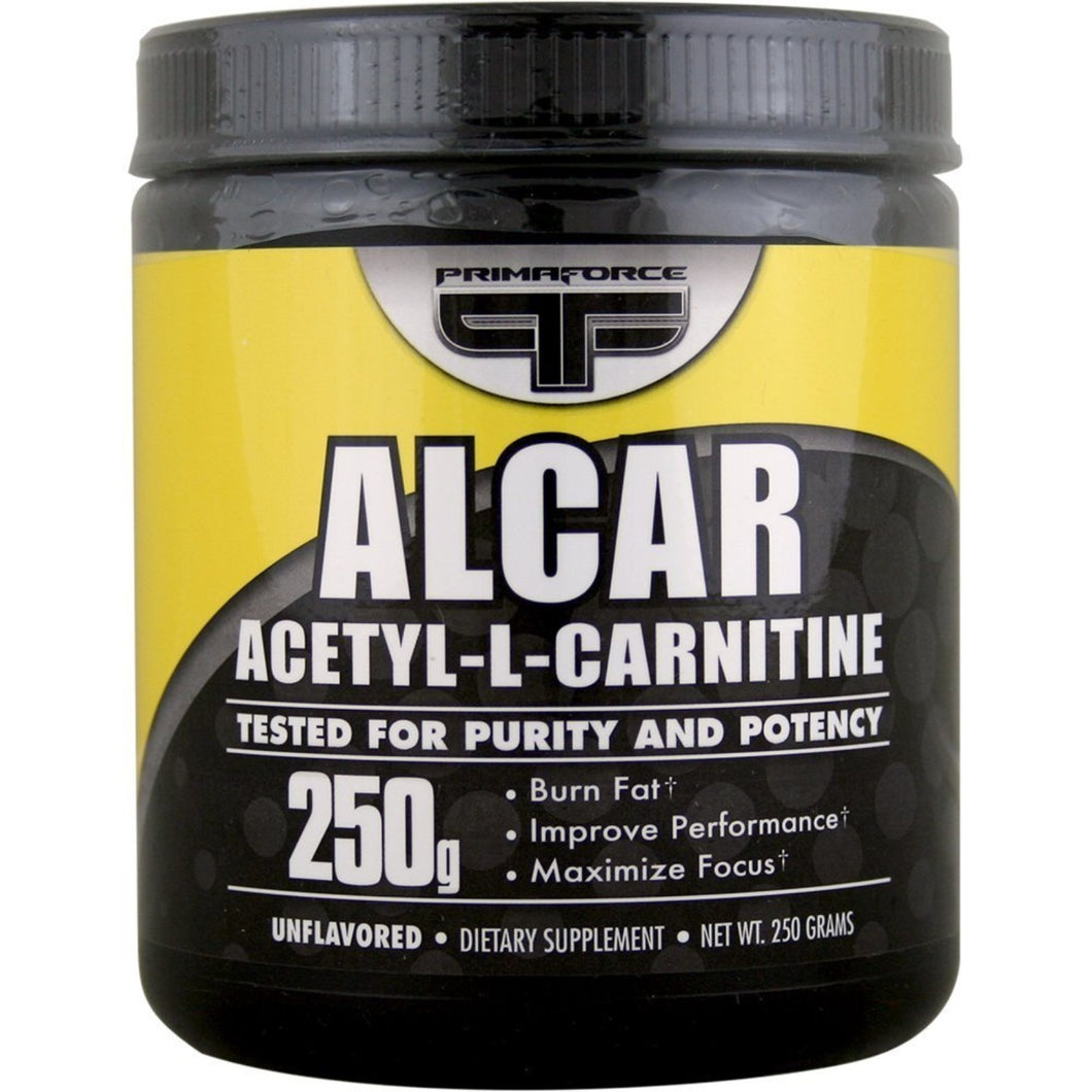 Primaforce, Alcar, Acetyl-L-Carnitine, Unflavored, Powder, 250 g