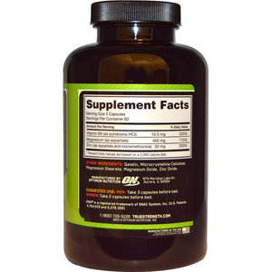 Optimum Nutrition, ZMA , 180 Capsules
