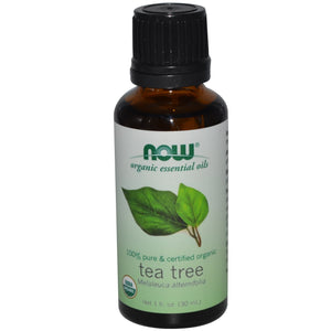Now Foods, Organic Essential Oils, Tea Tree, 1 fl oz (30 ml)