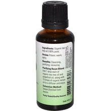 Load image into Gallery viewer, Now Foods, Organic Essential Oils, Tea Tree, 1 fl oz (30 ml)