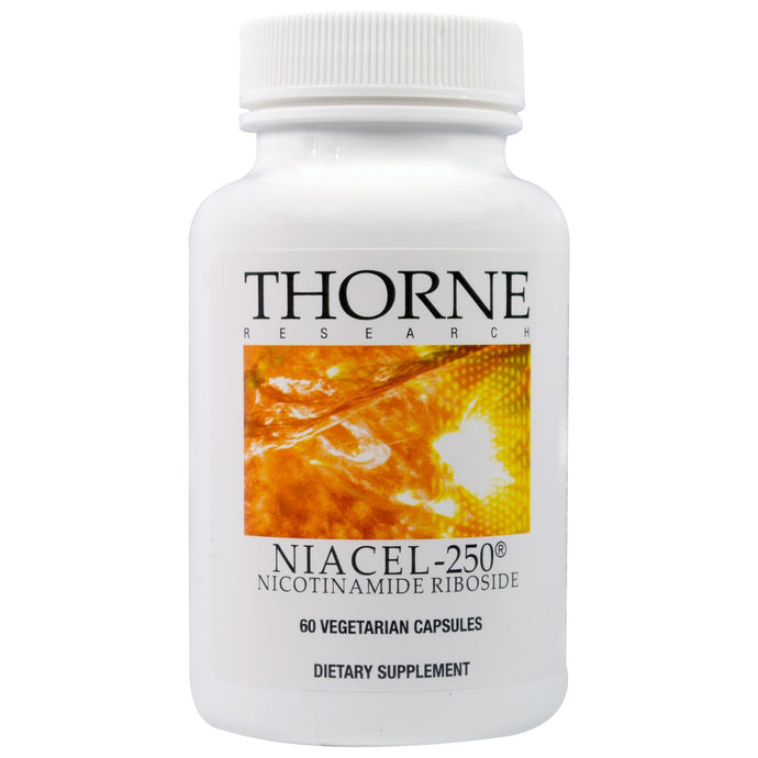 Thorne Research, Niacel-250, Nicotinamide Riboside, 60 Veggie Capsules
