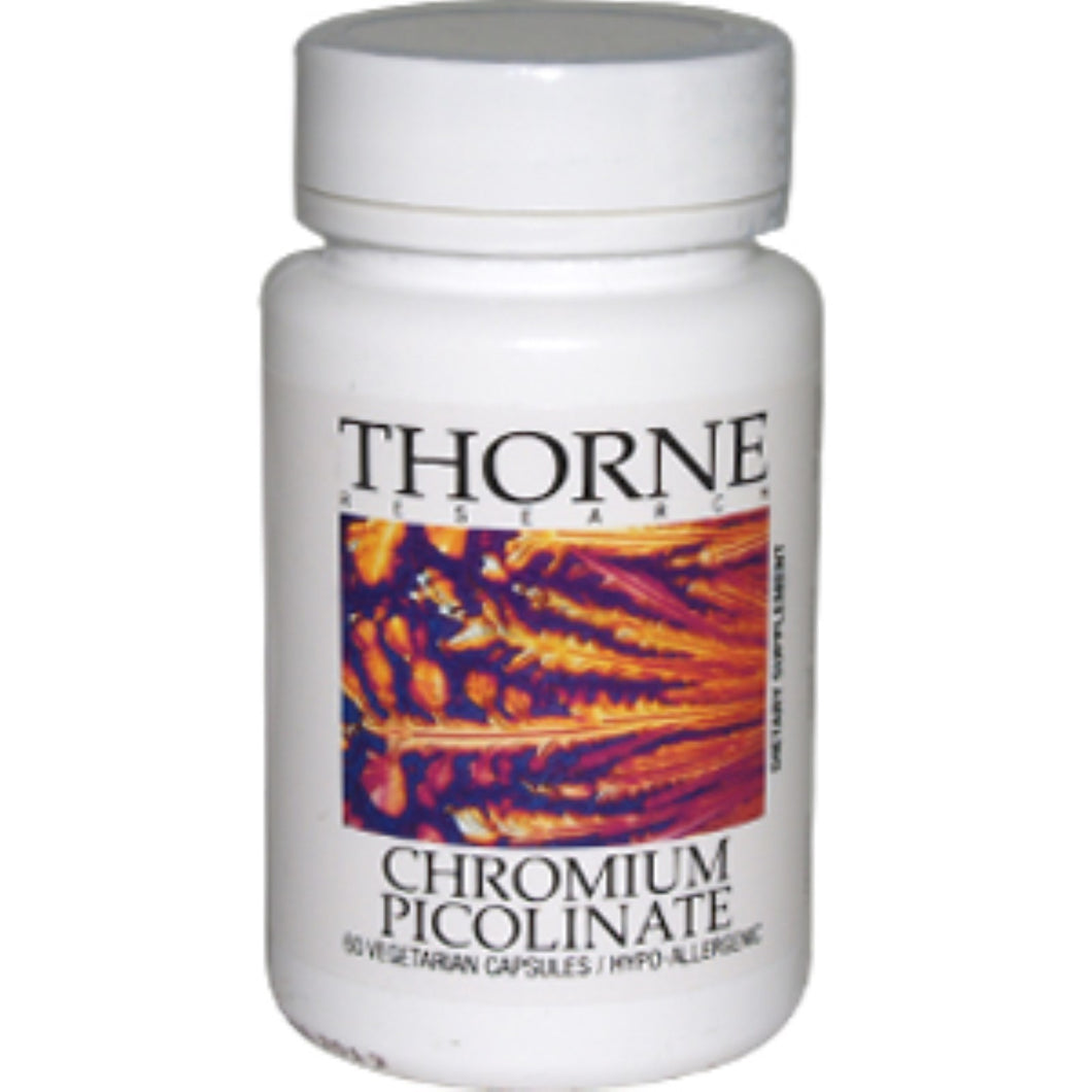 Thorne Research, Chromium Picolinate, 60 Veggie Caps