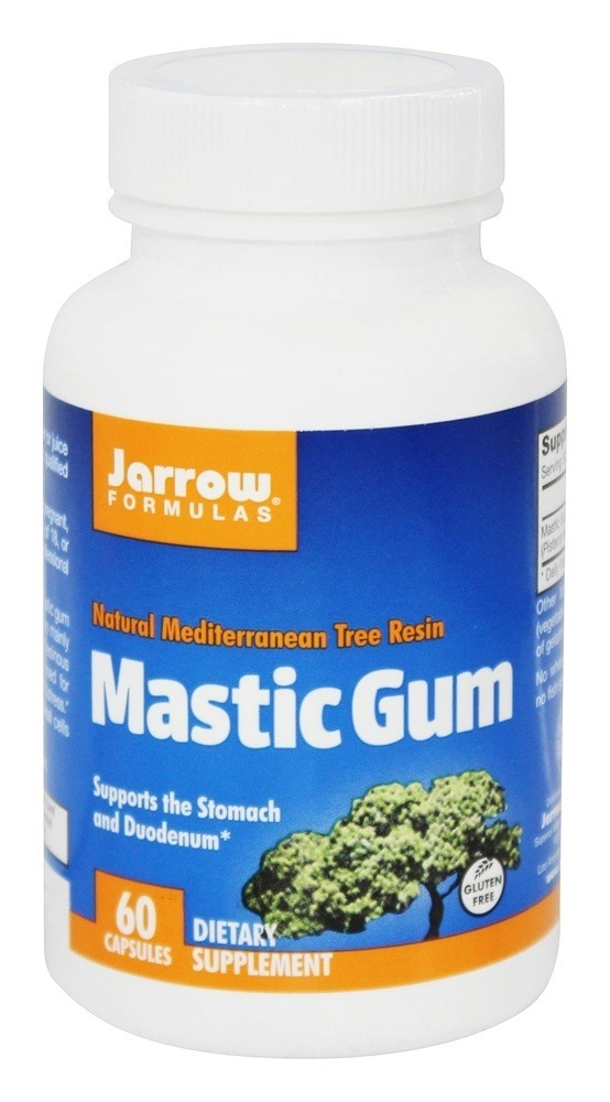 Jarrow Formulas Mastic Gum 1000 mg 60 Capsules - Supplement