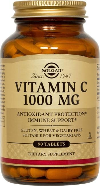 Solgar, Ester-C Plus, Vitamin C, 1000 mg, 90 Tablets