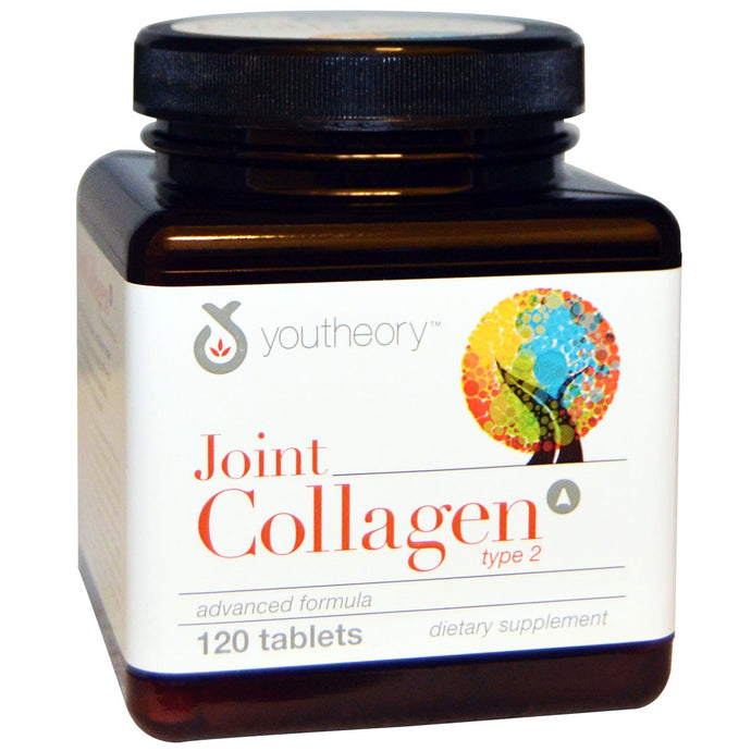 Youtheory, Joint Collagen, Type 2, 120 Tablets