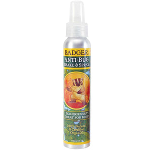 Badger Company, Organic Anti-Bug, Shake & Spray, 4 fl oz (118.3 ml)