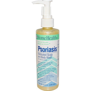 Home Health, Psoriasis, Medicated Scalp and Body Wash, 8 fl oz (236 ml)