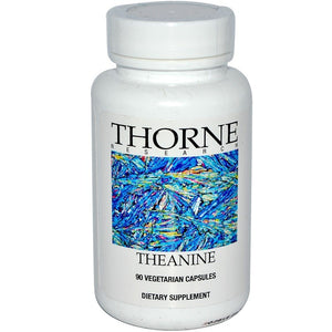 Thorne Research, Theanine, 90 Vegetarian Capsules