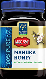 MGO™ 550+ Manuka Honey Manuka Health