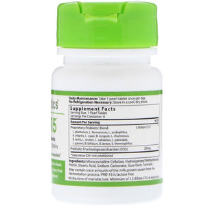 Hyperbiotics, Pro-15, The Perfect Probiotic, 5 Billion CFU, 8 Tablets