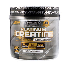 Load image into Gallery viewer, Muscletech, Essential Series, Platinum 100% Creatine, Unflavored, 14.11 oz (400 g)
