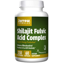Load image into Gallery viewer, Jarrow Formulas Shilajit Fulvic Acid Complex 60 Capsules