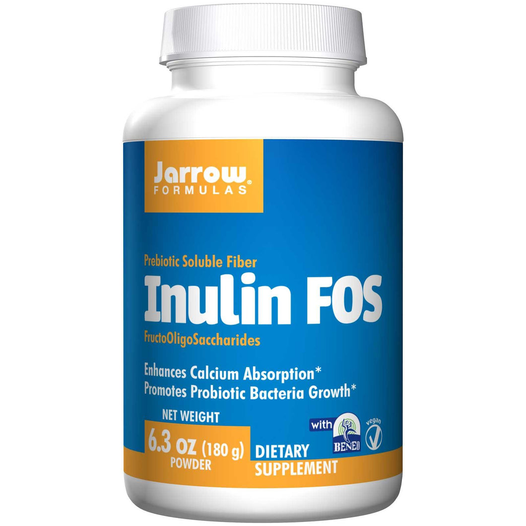 Jarrow Formulas, Inulin FOS, 180 grams, Powder - Supplement