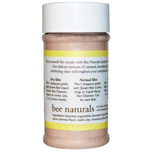 Load image into Gallery viewer, Bee Natural, Queen Bee Facial Polish 2oz