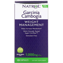 Load image into Gallery viewer, Natrol, Garcinia Cambogia, 1,000 mg, 120 Capsules