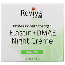 Load image into Gallery viewer, Reviva Labs, Elastin + DMAE Night Creme, 1.5 oz (42 g)