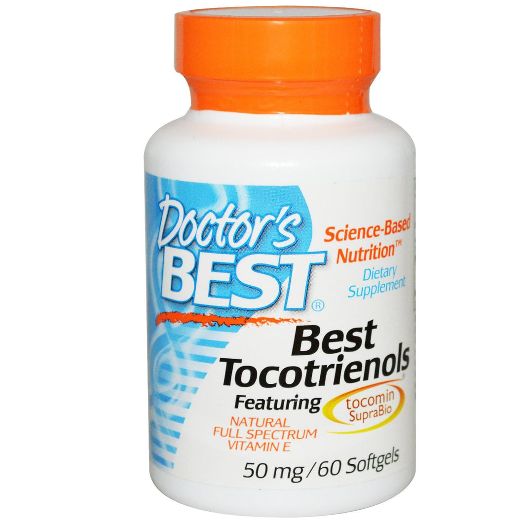 Doctor's  Best Tocotrienols 50mg 60 Softgels - Dietary Supplement