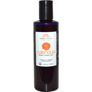 Bodyceuticals Calendula Skincare, Body & Face Oil (214ml)