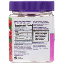 Load image into Gallery viewer, Natrol, Gummies, Hair, Skin & Nails, Raspberry, 90 Count