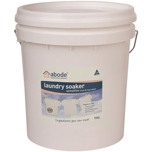 Abode, Laundry Soaker (Front & Top Loader) Zero, 15Kg Bucket