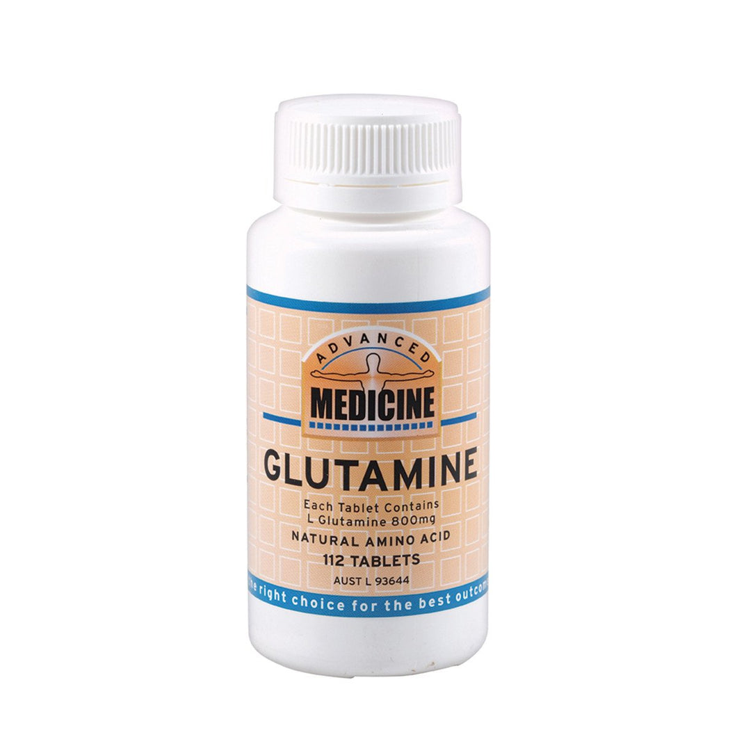 Advanced Medicine, Glutamine, 800Mg, 112 Tablets