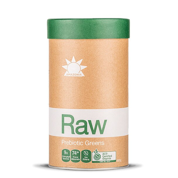 Amazonia, Raw Prebiotic Greens, 600g