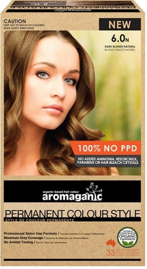 Aromaganic, Blonde Dark (Natural), 100g