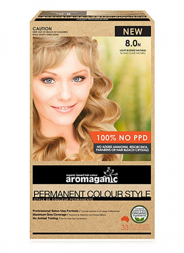 Aromaganic, Blonde Light (Natural), 100g