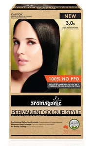 Aromaganic, Brown Dark (Natural), 100g