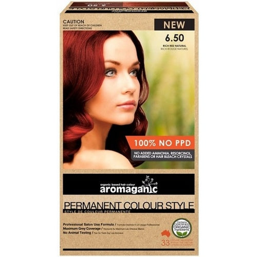 Aromaganic, Dark Blonde Warm Red, 100g