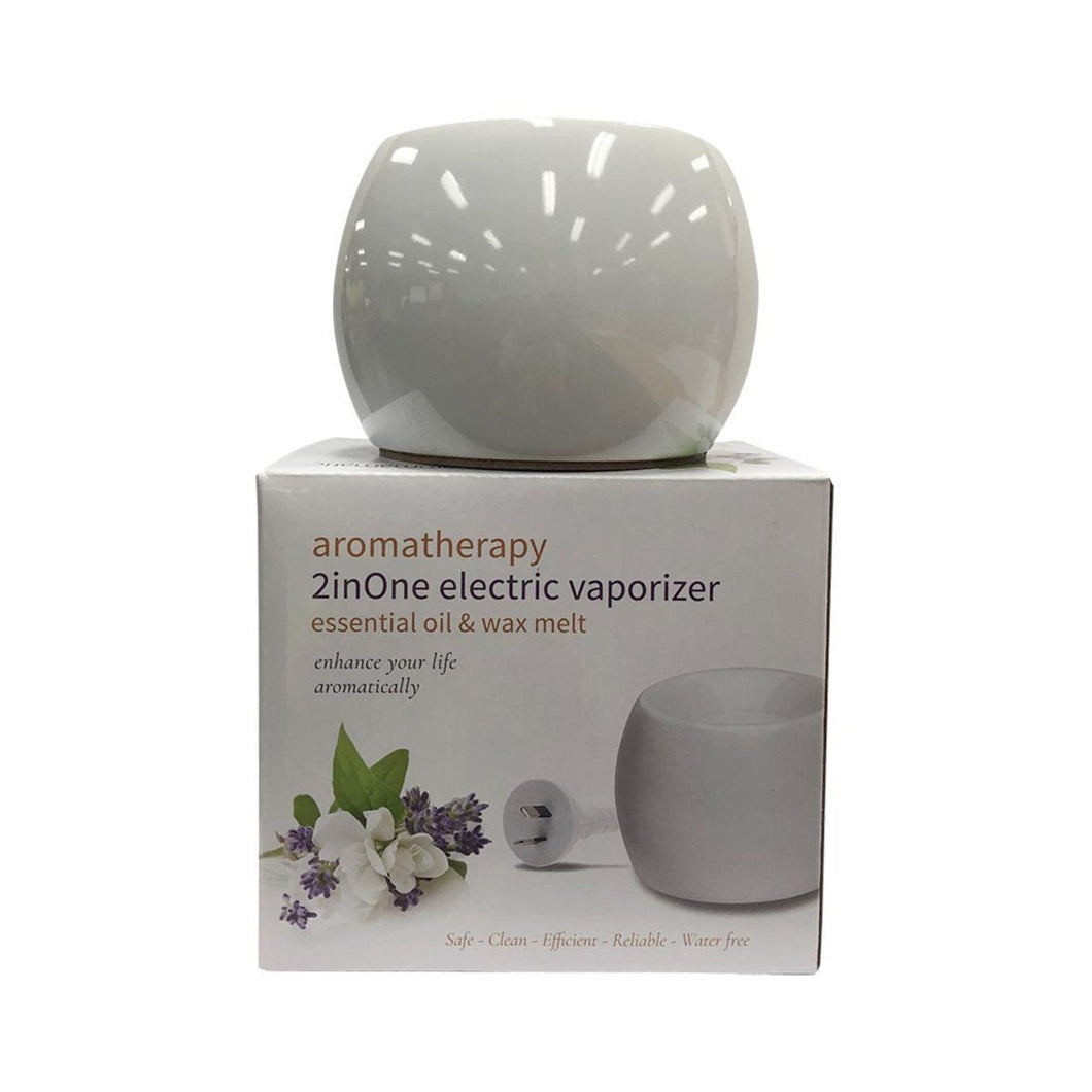 Aromamatic, Vapouriser Electric Coral Shape White (2Inone - Essential Oils And Wax Melts)