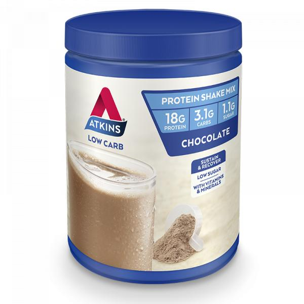 Atkins, Chocolate Shake Mix, 330g