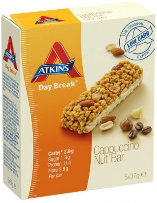 Atkins, Day Break Cappuccino Nut, 185g