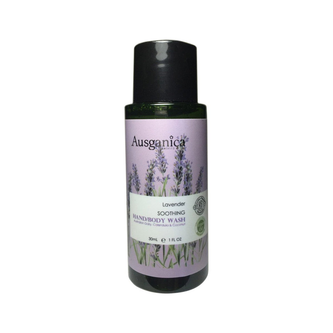 Ausganica, Lavender Soothing Hand/Body Wash, 30ml