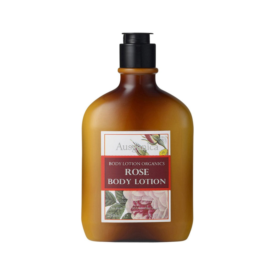 Ausganica, Rose Body Lotion, 250ml