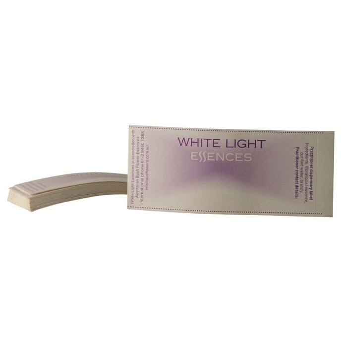 Australian Bush, White Light Essence Labels, 25 Pack