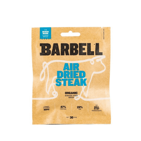 Barbell Foods, Benchmark Air Dried Steak, 30g