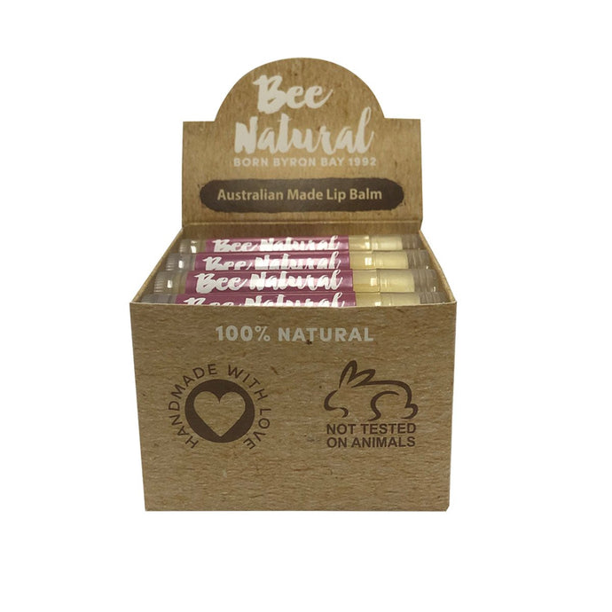 Bee Natural, Lip Balm Stick Kakadu Plum, 4.5ml X 12 Display