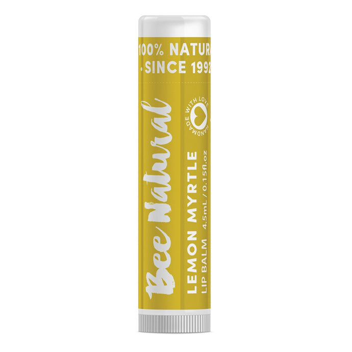 Bee Natural, Lip Balm Stick Lemon Myrtle, 4.5ml