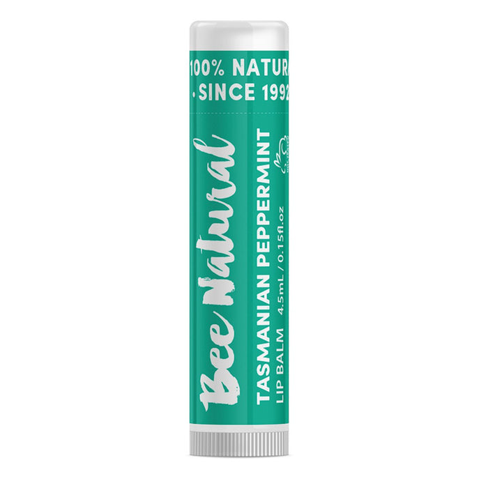 Bee Natural, Lip Balm Stick Peppermint, 4.5ml