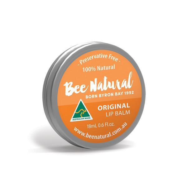 Bee Natural, Lip Balm Tin Original, 18ml