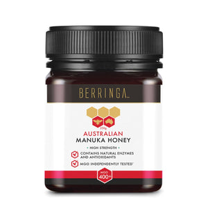 Berringa, Australian Manuka Honey High Strength (Mgo, 400+), 250g