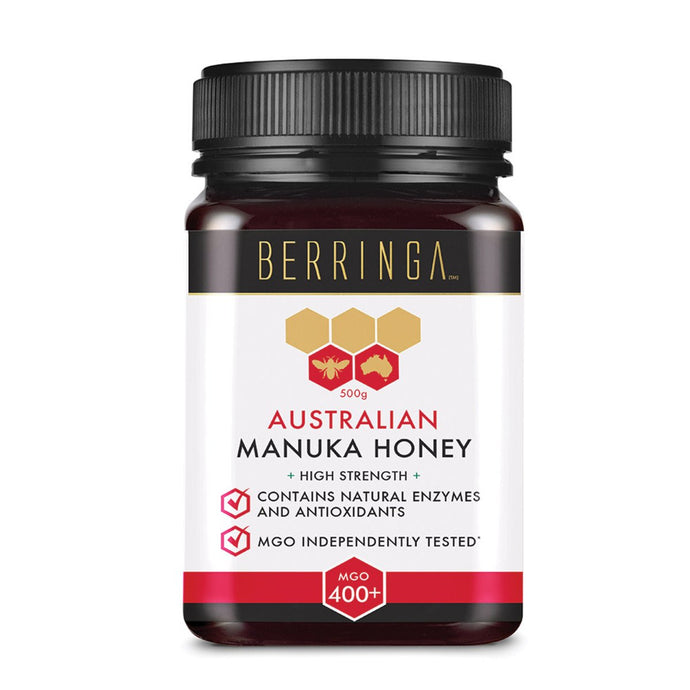 Berringa, Australian Manuka Honey High Strength (Mgo, 400+), 500g