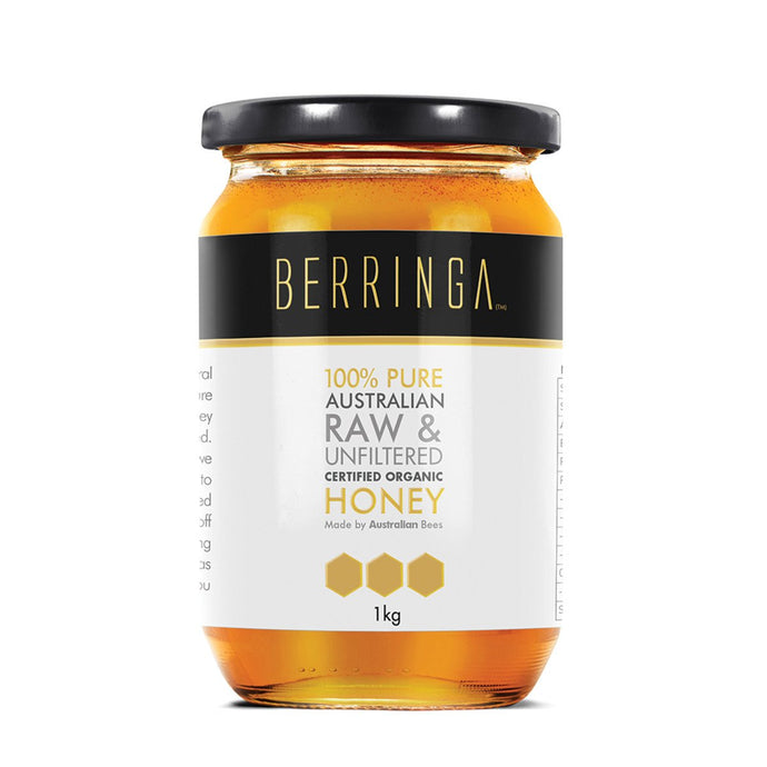 Berringa, Australian Pure Organic Raw & Unfiltered Honey, 1Kg