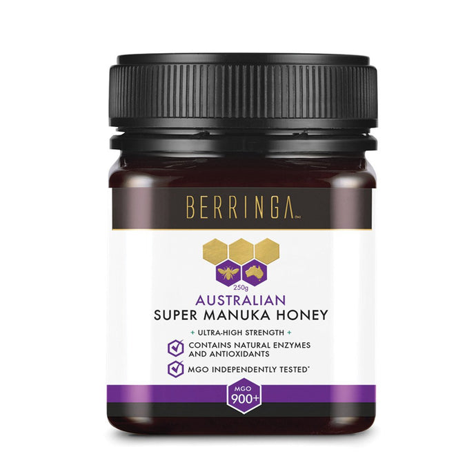 Berringa, Australian Super Manuka Honey Ultra-High Strength (Mgo, 900+), 250g